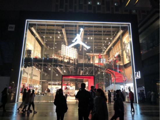來啦!西北首傢Air Jordan旗艦店正式登陸西安老城_1