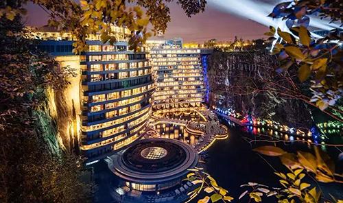 深坑酒店正式对外营业 从立项至开业历经整整12年
