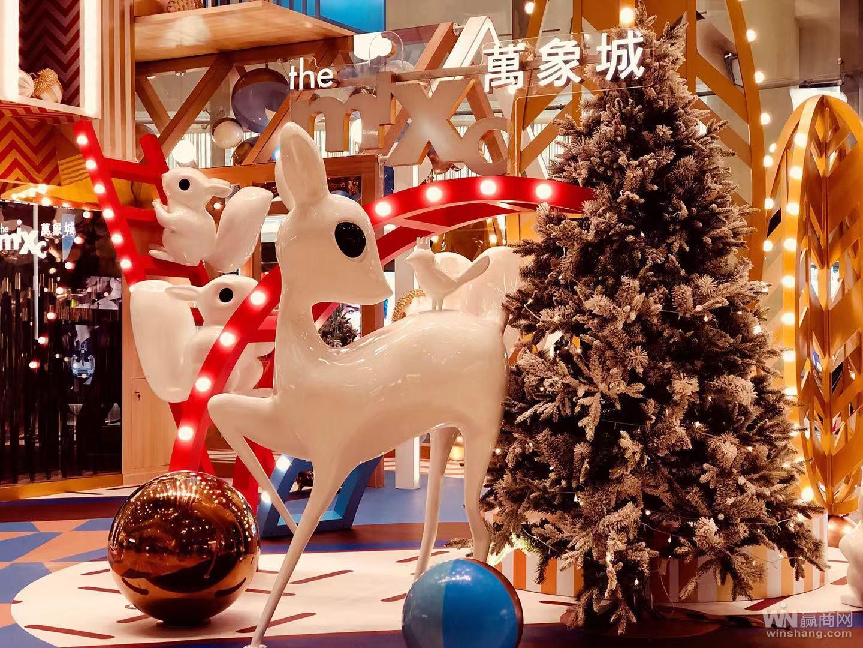 2018年深圳万象城圣诞亮灯2