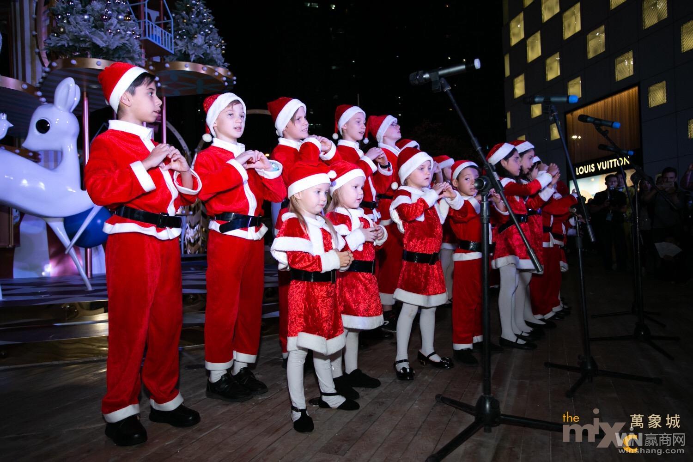 2018年深圳万象城圣诞亮灯4