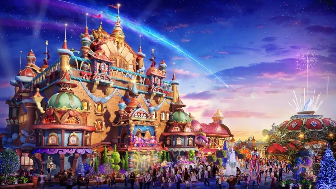 恒大童世界今日开工 大西安新添一座世界顶级乐园