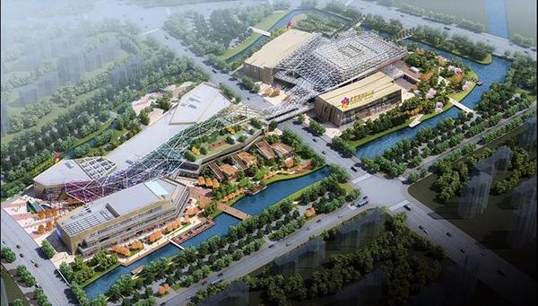 苏州尹山湖爱琴海购物公园