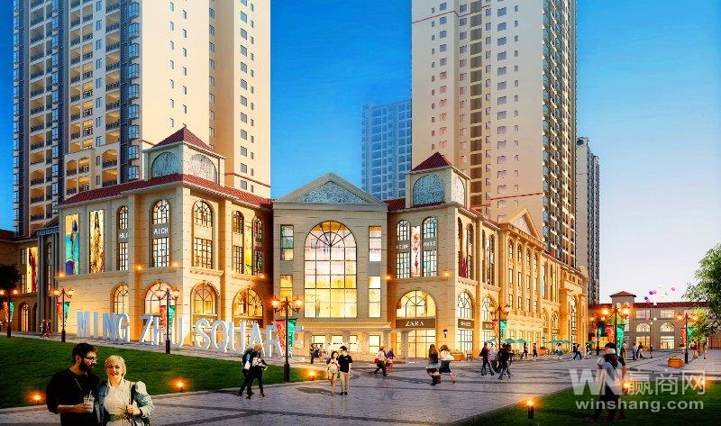 方圆荟太阳城购物广场效果图