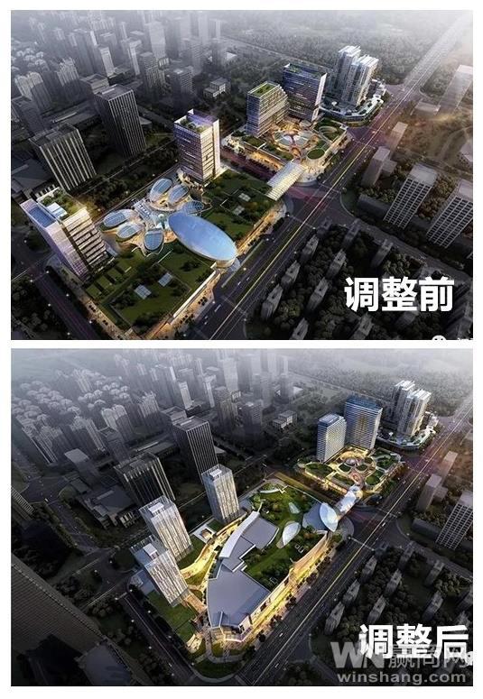 南昌莱蒙都会商业中心规划调整商业面积达15万方
