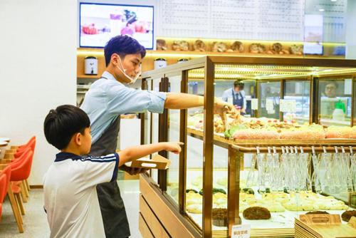 欧包遇见茶广州金沙洲店开业 未来将致力打造社区精品面包店