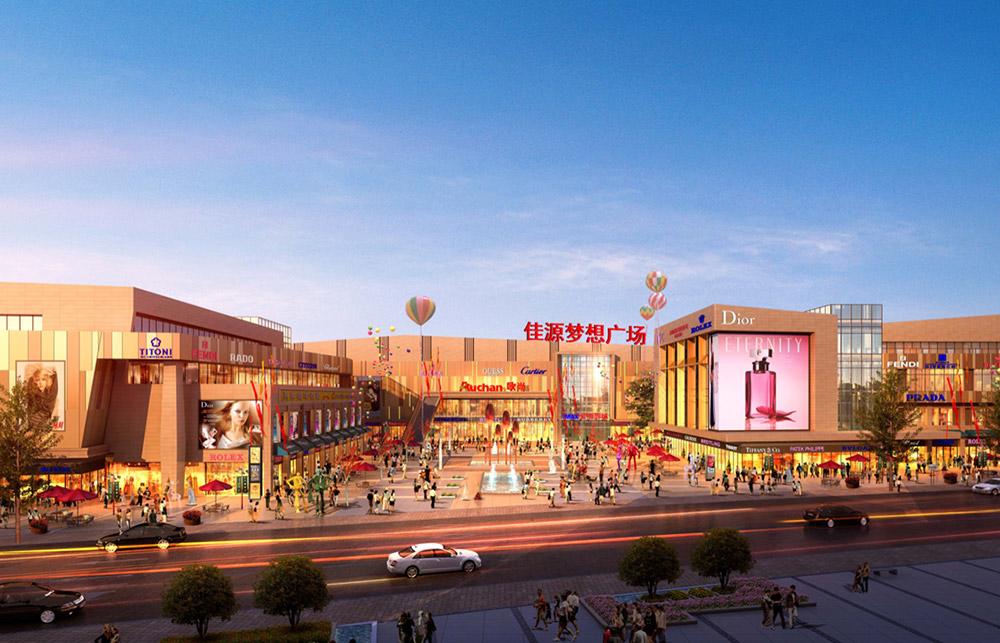 南京佳源梦想广场预计10月开业 星巴克、幸福蓝海国际影城等进驻
