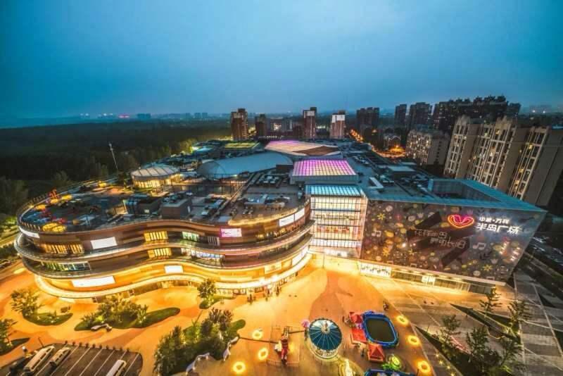 提升社区商业品质,中粮万科半岛广场打造新型理想社区