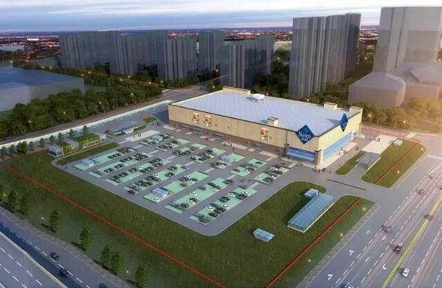 据了解,山姆会员商店具体位于南通港闸经济开发区江海大道北侧