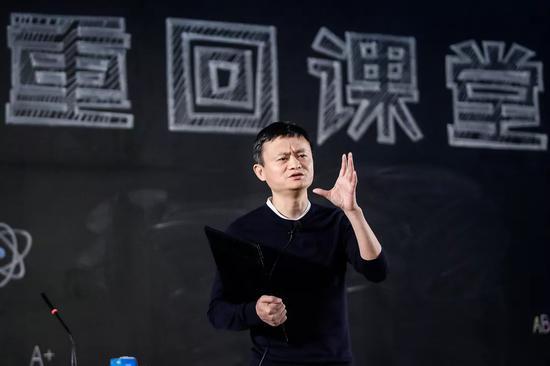 """2018年1月,第三届马云乡村教师奖""""重回课堂""""活动"""
