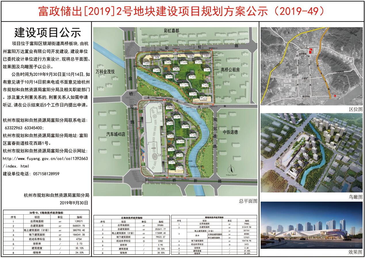 富阳打造首座万达广场。