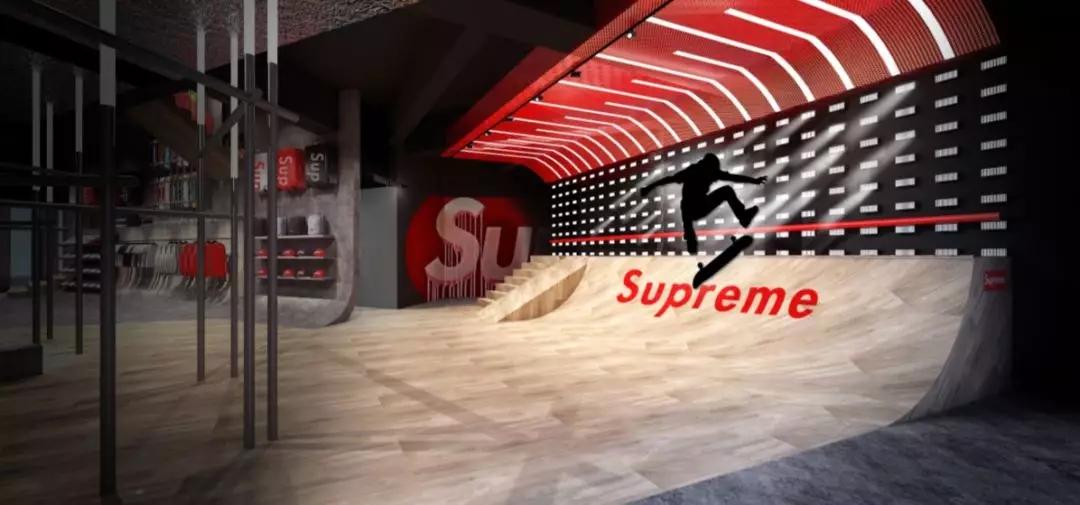 欧洲Supreme首进中国 全国开店进行中?