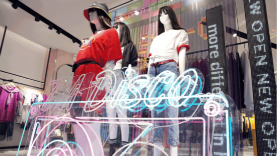 7M女装上海初个DISCO潮流馆开启品牌升级!