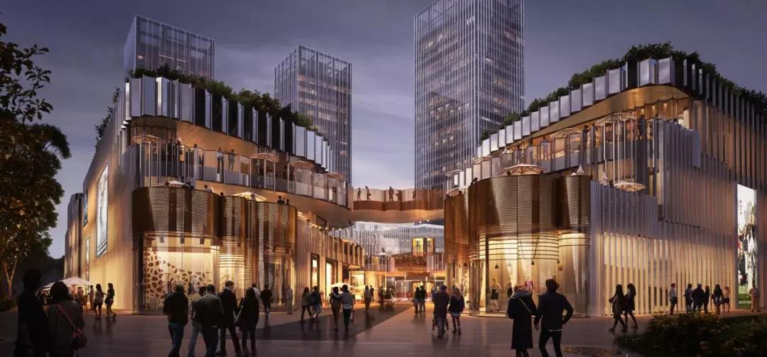 MALL+BLOCK演绎建筑美学看武汉华发中城证明字体设计图片