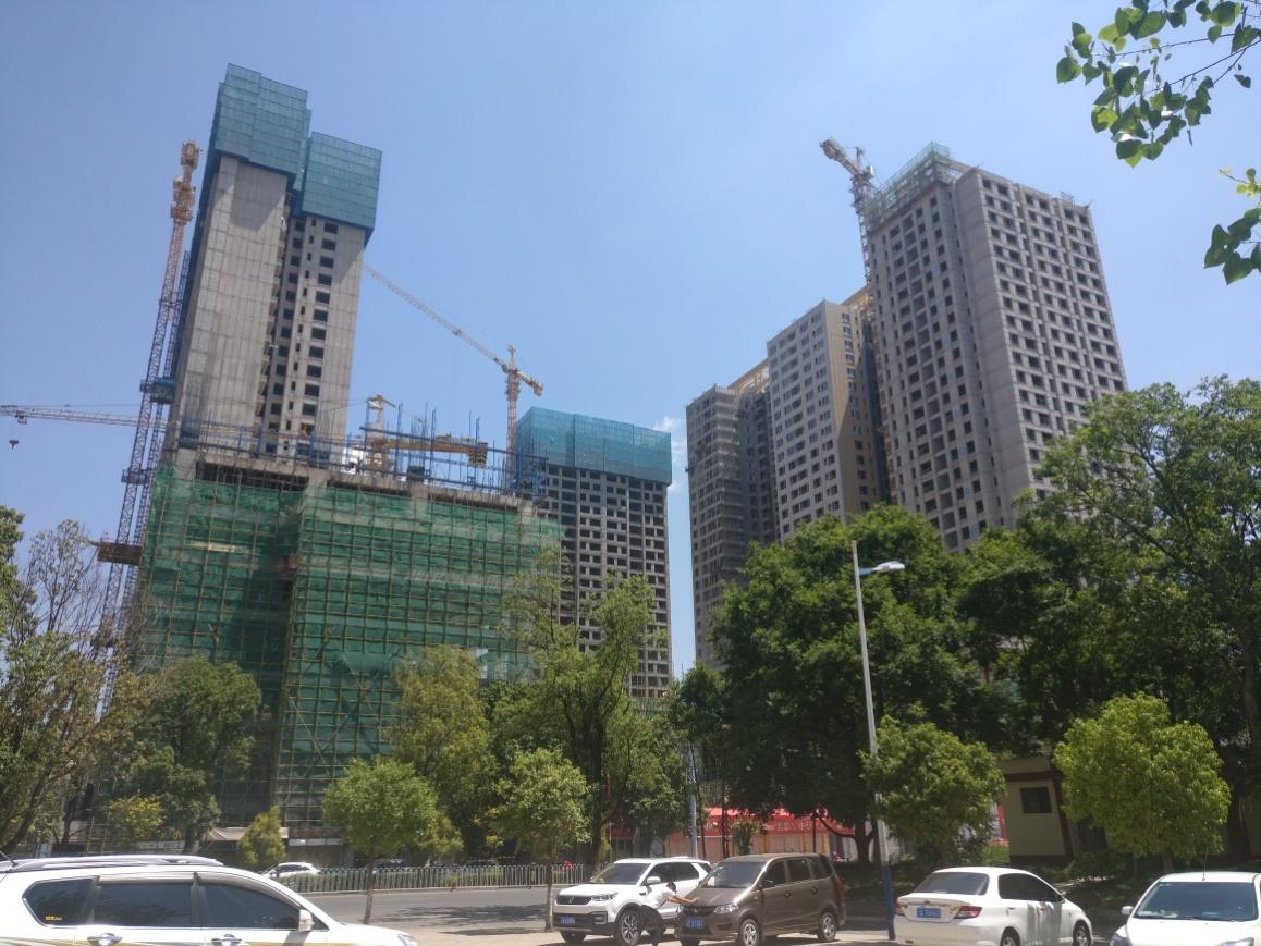 楚雄花园城商业广场拟定2020年头开业 最新施工进度一览