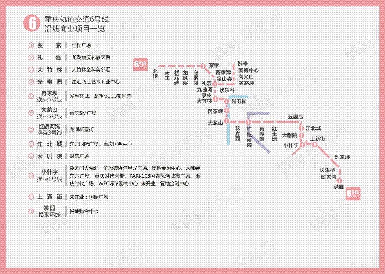 重庆轨道交通6号线