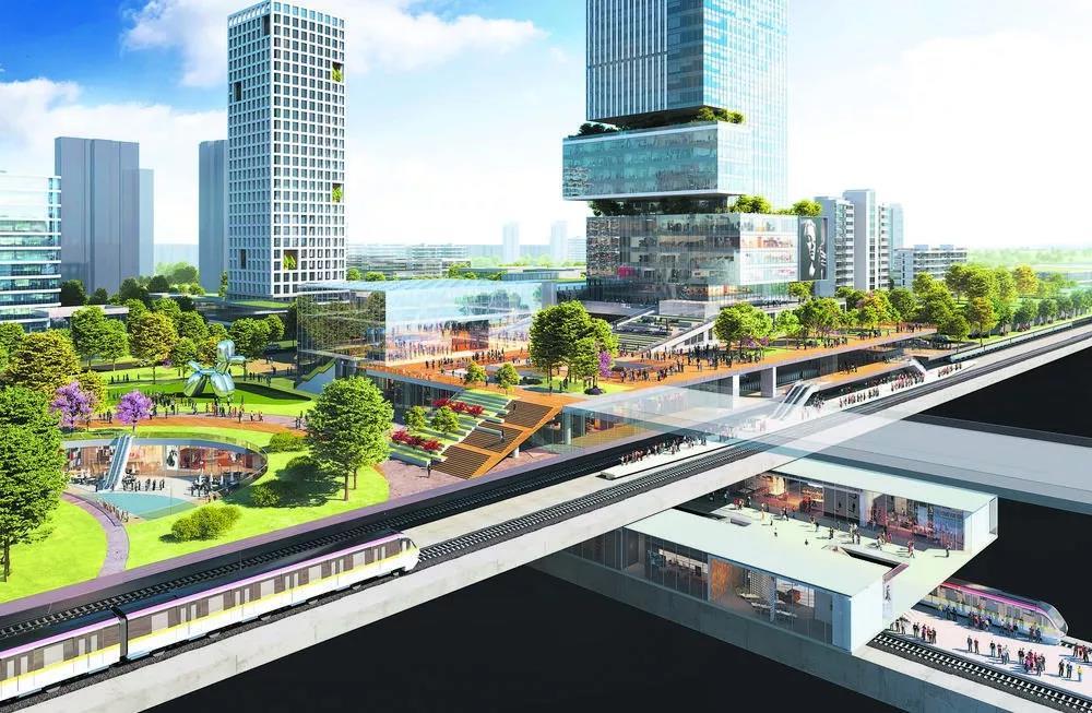成都行政学院站TOD项目设计方案出炉