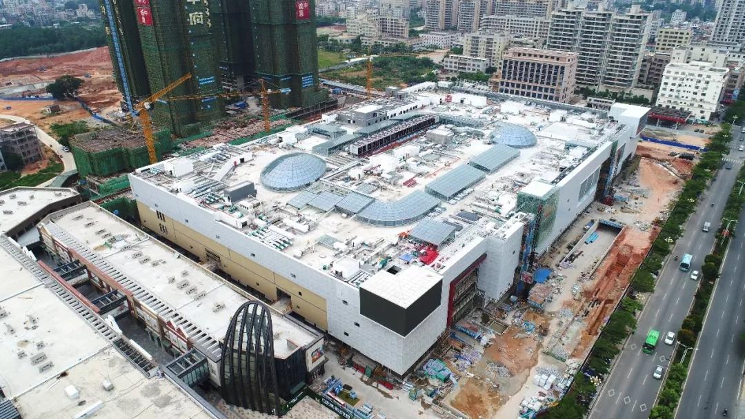 茂名首座万达广场将于12月21日开业 星巴克首进电白