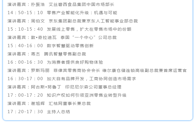 第十九届亚太零售商大会3.1