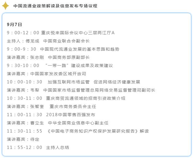 第十九届亚太零售商大会9