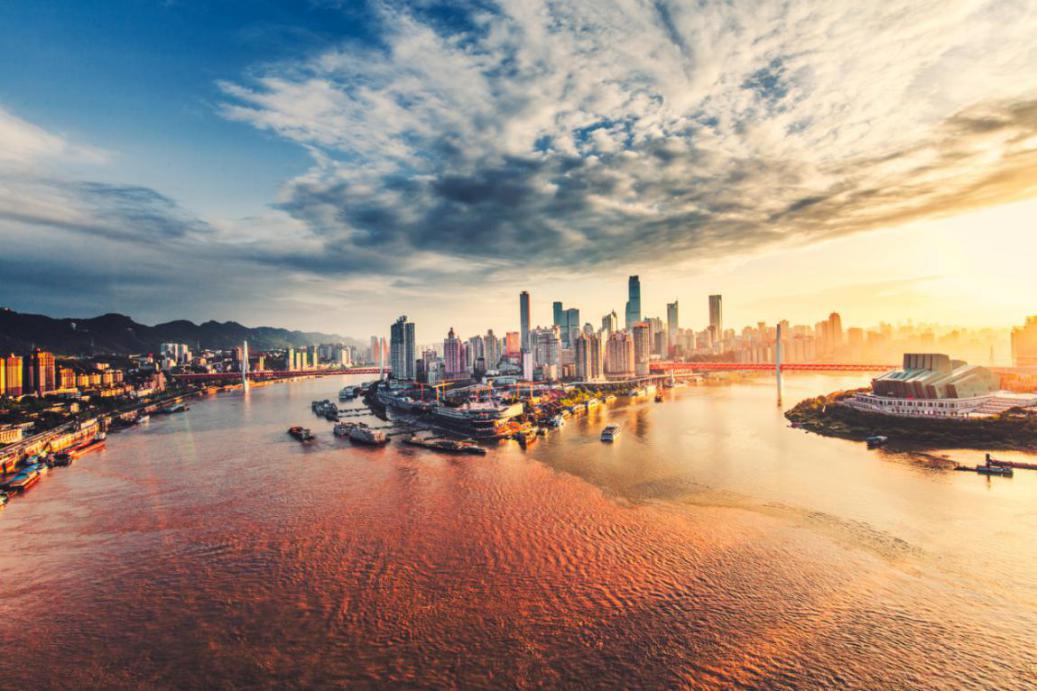重庆渝中半岛
