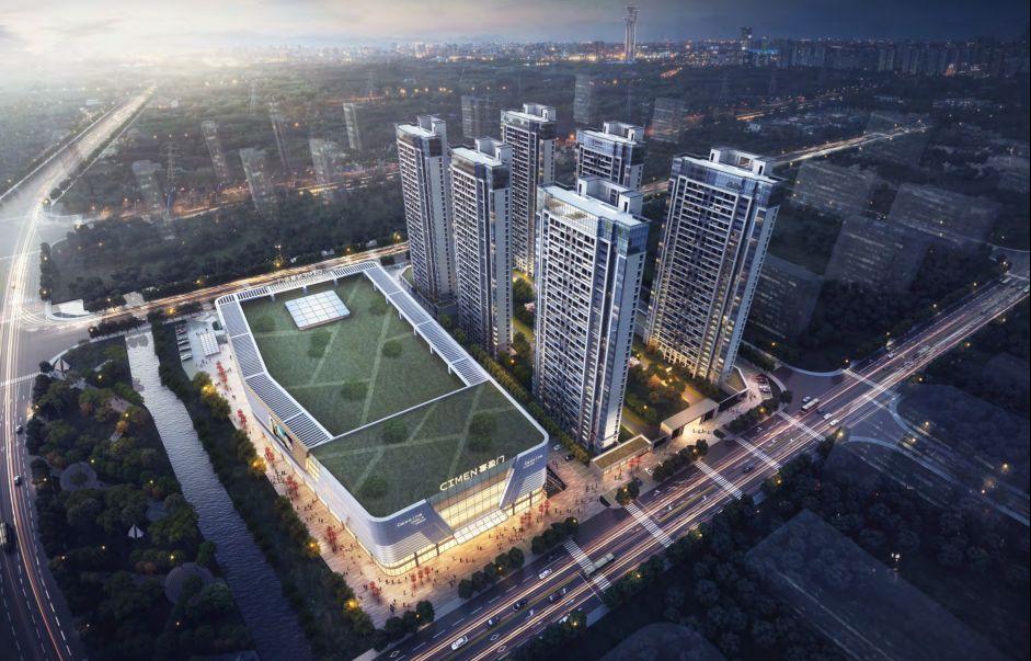 福清城东将迎来首个大型商业体 福清喜盈门范城拟2021.9.28开业