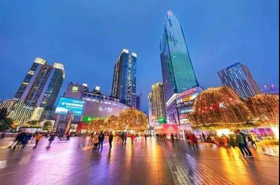 重庆江北大融城