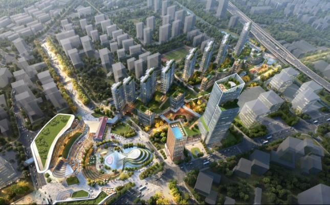 杭州新世界今日动工 将建K11艺术生活社区