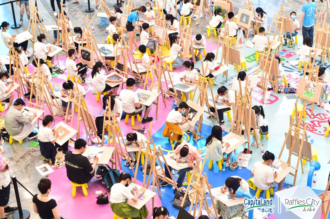 重庆来福士购物中心4