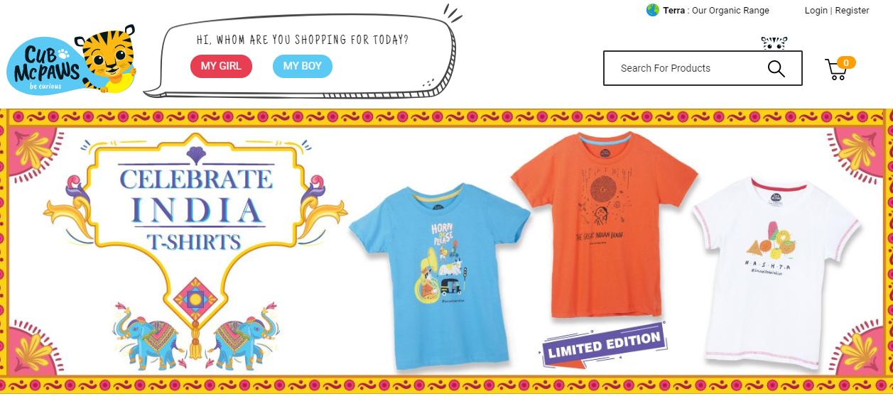 儿童服装品牌Cub McPaws完成80万美元Pre-A轮融资