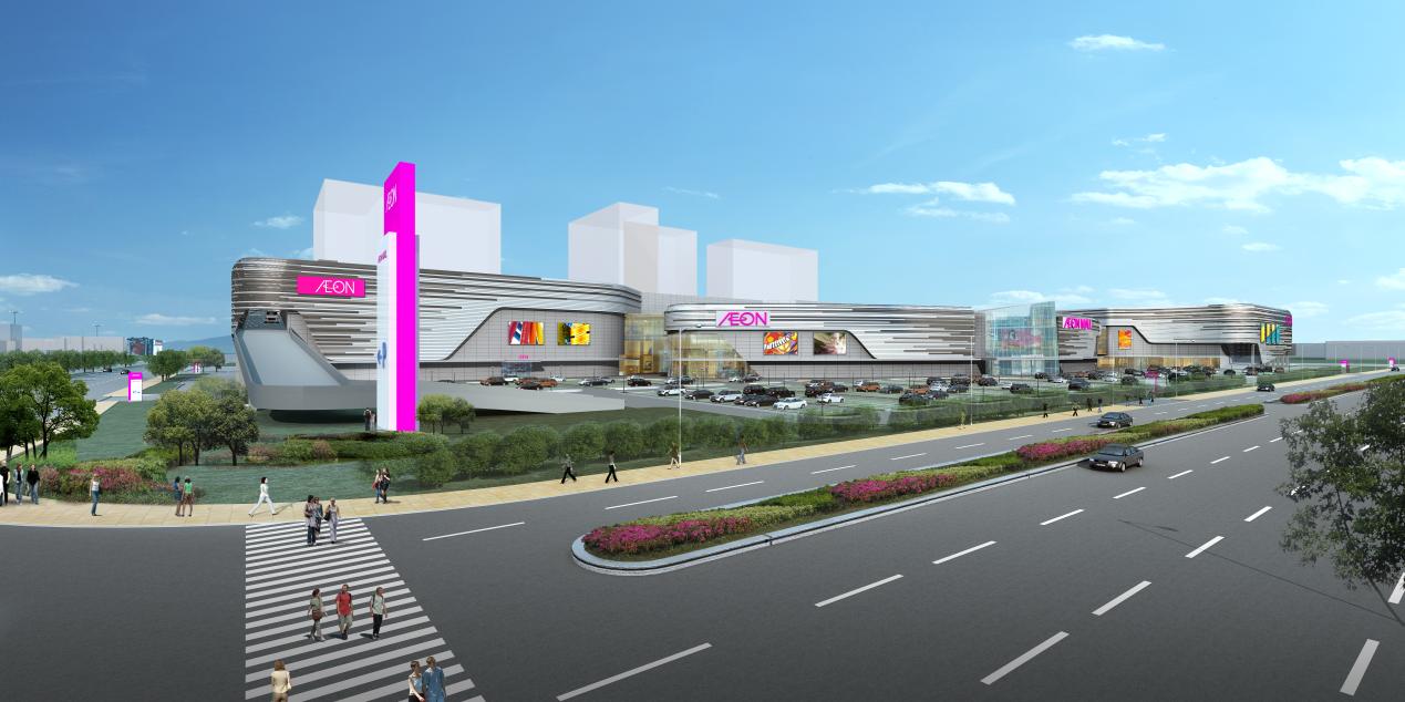 多家企业竞逐新塘商业赛道 永旺梦乐城广州新塘计划2021年春季开业