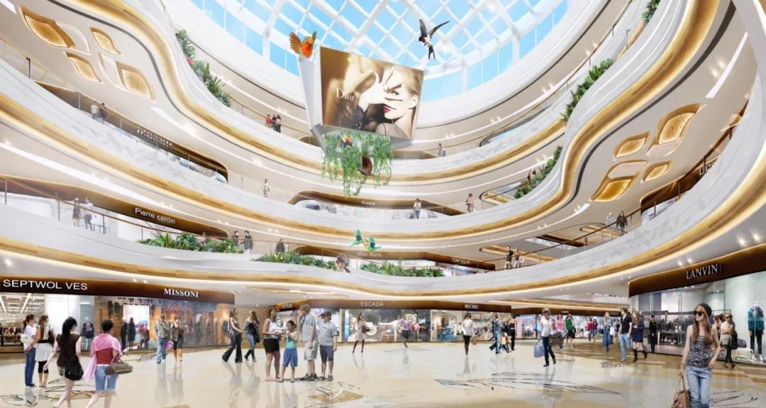 """购物中心的下半场,与城市级符号""""较劲""""!"""