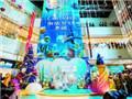 广州乐峰广场、百信广场已提前启动圣诞亮灯
