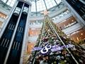 沪上购物中心圣诞美陈大PK 港资外企商场最用心