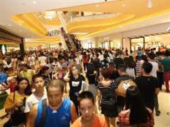 东海泰禾广场开业首日客流量36万人次 营业额破1500万