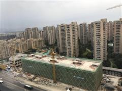 耀江文鼎国际全面结顶 地铁物业打造城西一站式消费体验
