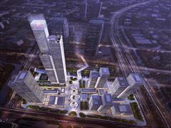 金融城二期416.6米排名第四 南京十大高楼河西占七个