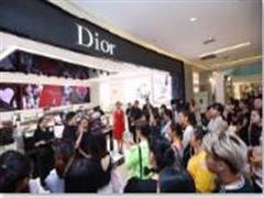 购物中心加码美妆 Dior迪奥彩妆概念精品店亮相金光华广场