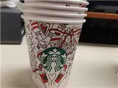 星巴克2017圣诞季限定款提前曝光 又要为杯子买咖啡了