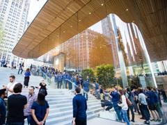 苹果芝加哥零售店正式开业 该店是社区而非商店