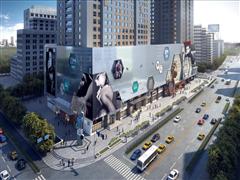 南京新世界百货迈出商业改造新步伐:重装外立面打造南京商业新地标
