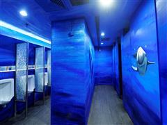 天津大悦城推出了主题卫生间 卫生间秒变主题空间