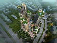 中和宝霖广场项目规划优化调整 建筑外立面将遇改规
