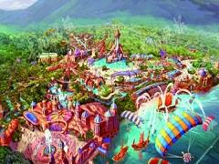 """赤水斥资62亿元打造""""中国恐龙岛"""" 占地面积达1800亩"""