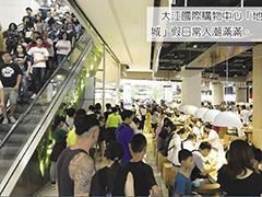 新品牌加持 台茂、大江两大购物中心周年庆业绩飙