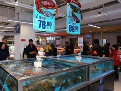 永辉、物美等传统商超抢滩新零售 餐饮区占门店面积一半