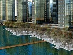 中建、华远、宝德23.21亿分食天津塘沽湾4宗商住地