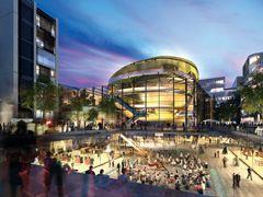 华侨城苏河湾20万方公园西区商业启动 一期sMart街区2018年开业