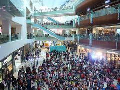 珠江广场迎3周年 合生商业首次对外谈成都商业大布局