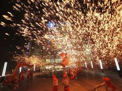 2017SM广场非遗圣诞季亮灯仪式点亮重庆 拉开圣诞季篇章