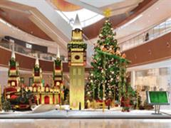 标杆购物中心2017年圣诞活动美陈大比拼 各出奇招